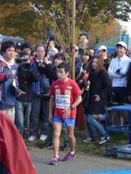 戸田マラソン 猫ひろし